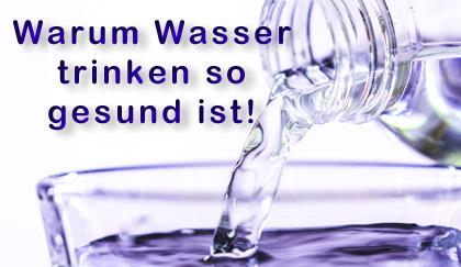 Warum WASSER Trinken so wichtig ist?